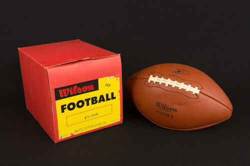 Vintage New Old Stock Unused Wilson F1150S HS Football in Box