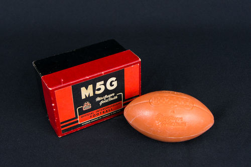 MacGregor GoldSmith Salesman Sample Football Soap in Box