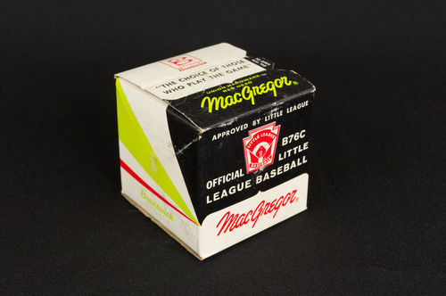 Unopened MacGregor Official Little League Baseball in Box