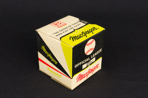 Unopened MacGregor Official League Baseball in Box