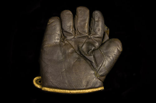 1920's Spalding Ace Black Fielder's Glove