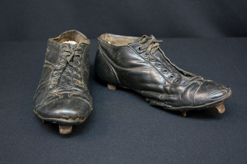 1920s Three-Quarter High Top Baseball Cleats
