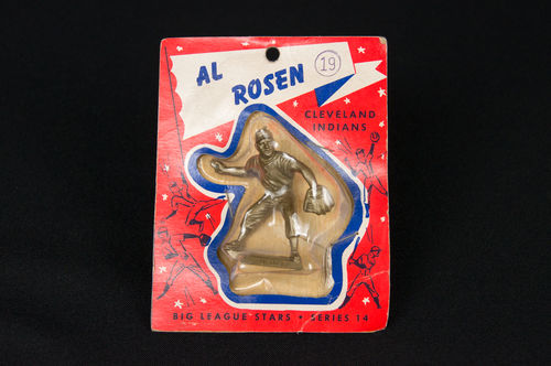 1956 Al Rosen Big League Stars Figurine in Blister Pack