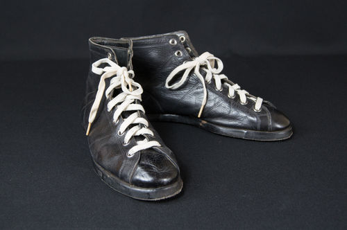 Rare Early Leather Converse High Top Basketball Shoes